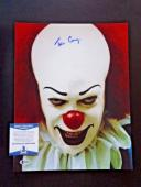 Tim Curry IT Movie  Pennywise Signed Autographed 11x14 Photo BAS Certified #1