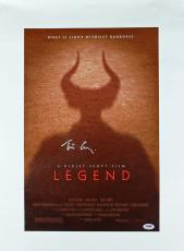Tim Curry Legend Signed 12x18 Canvas Autographed PSA/DNA #AA60629