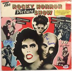 TIM CURRY & MEAT LOAF Signed Original Rocky Horror Picture Show LP PSA/DNA COA