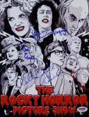 Tim Curry Patricia Quinn Campbell Signed Rocky Horror Show 8X11 Photo PSA V02690