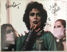 TIM CURRY Patricia Quinn Nell Campbell Signed Rocky Horror Picture Show BAS COA