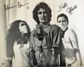 TIM CURRY Patricia Quinn/Nell Campbell Signed Rocky Horror Picture Show COA