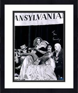 "Tim Curry Rocky Horror Picture Show Autographed 11"" x 14"" Photograph - JSA"