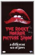 """Tim Curry Rocky Horror Picture Show Autographed 11"""" x 17"""" Movie Poster - JSA"""