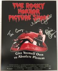 TIM CURRY Rocky Horror Picture Show MAGENTA COLUMBIA Signed 8x10 Photo COA Proof
