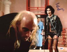 Tim Curry Rocky Horror Picture Show Signed 11X14 Photo PSA/DNA AA60643