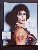 Tim Curry Rocky Horror Picture Show Signed Autographed 11x14 Photo BAS Certified