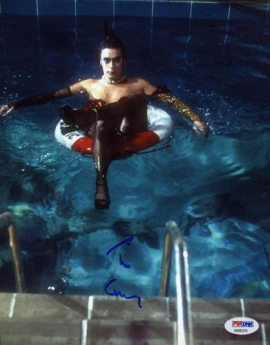 Tim Curry Rocky Horror Psa/dna Coa Hand Signed 8x10 Photo Authentic Autograph