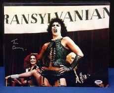 Tim Curry Signed 11x14 Photo PSA/DNA Cert# AA60648