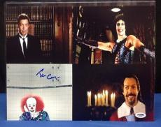 Tim Curry Signed 11x14 Photo PSA/DNA Cert# AA60650