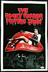 Tim Curry Signed 11x17 Canvas Photo PSA/DNA COA Actor Rocky Horror Picture Show