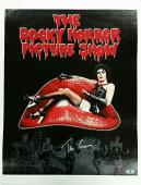 TIM CURRY Signed 16x20 Canvas Photo THE ROCKY HORROR SHOW Auto w/ Beckett Coa