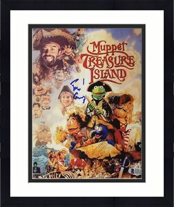 TIM CURRY Signed 8x10 Movie Poster for Muppet Treasure Island with BAS COA