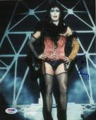 Tim Curry signed autographed 8x10 photo! Rocky Horror Picture Show! IT! PSA COA!