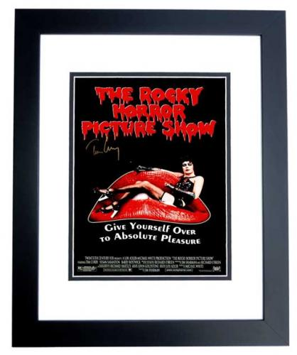 Tim Curry Signed - Autographed The Rocky Horror Picture Show 11x17 inch Photo - BLACK CUSTOM FRAME - Guaranteed to pass PSA or JSA