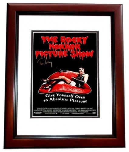 Tim Curry Signed - Autographed The Rocky Horror Picture Show 11x17 inch Photo - MAHOGANY CUSTOM FRAME - Guaranteed to pass PSA or JSA