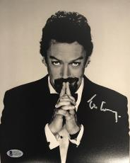 TIM CURRY Signed B&W 8x10 Photo Autographed Beckett BAS COA