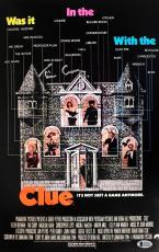 TIM CURRY Signed CLUE 11x17 Autographed Photo Beckett BAS COA Proof