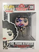 TIM CURRY Signed DR. FRANK N FURTER Funko Pop! Figure PSA/DNA AUTO COA BLUE