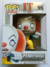 Tim Curry Signed Funko IT The Movie Pennywise POP Figure PSA/DNA COA