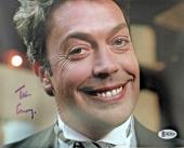 TIM CURRY Signed Home Alone 2 8x10 Photo Autograph Beckett BAS COA Proof S