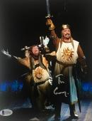 TIM CURRY Signed Knights of Spamalot 8x10 Photo Autograph Beckett BAS COA