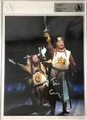 TIM CURRY Signed Knights of Spamalot 8x10 SLABBED Photo Autograph Beckett BAS