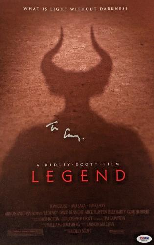 TIM CURRY Signed LEGEND 11x17 Canvas Print PSA/DNA COA Proof