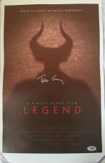 "TIM CURRY Signed ""Legend"" 11x17 Canvas Print PSA/DNA COA Proof Photo"