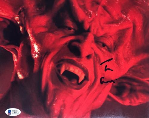 TIM CURRY Signed Legend Darkness 8x10 Photo Autograph Beckett BAS COA Proof L
