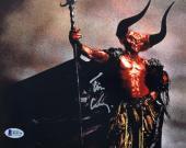 TIM CURRY Signed Legend Darkness 8x10 Photo Autograph Beckett BAS COA Proof U