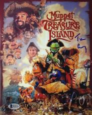 TIM CURRY Signed Muppets Treasure Island 8x10 Photo Beckett BAS COA Proof O