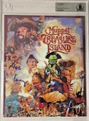 TIM CURRY Signed Muppets Treasure Island 8x10 SLABBED Photo Auto Beckett BAS