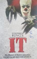 TIM CURRY Signed Pennywise Stephen King IT 11x17 Photo Beckett BAS COA Proof