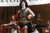 Tim Curry Signed Rocky Horror Authentic Autographed 11x17 Photo PSA/DNA #AB90141