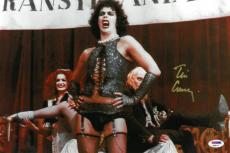 Tim Curry Signed Rocky Horror Authentic Autographed 10x15 Photo PSA/DNA #AB90141