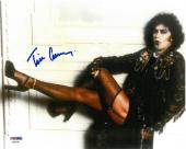 Tim Curry Signed Rocky Horror Authentic Autographed 8x10 Photo PSA/DNA #AB90246