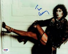Tim Curry Signed Rocky Horror Authentic Autographed 8x10 Photo PSA/DNA #Z15983