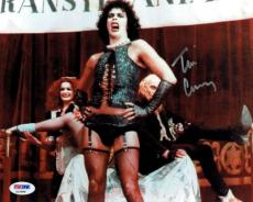Tim Curry Signed Rocky Horror Authentic Autographed 8x10 Photo PSA/DNA #Z15986