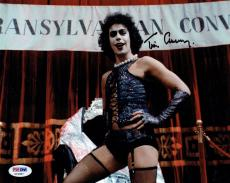 Tim Curry Signed Rocky Horror Authentic Autographed 8x10 Photo PSA/DNA #Z15987