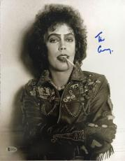 TIM CURRY Signed Rocky Horror Picture Show 11x14 Photo Beckett BAS COA A Proof