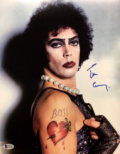 TIM CURRY Signed Rocky Horror Picture Show 11x14 Photo Beckett BAS COA AUTOGRAPH