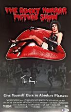 TIM CURRY Signed Rocky Horror Picture Show 11X17 Photo Auto Beckett BAS COA A