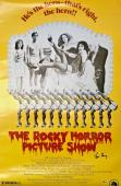 TIM CURRY Signed Rocky Horror Picture Show 24x36 Poster Beckett BAS COA