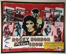 TIM CURRY Signed Rocky Horror Picture Show 8x10 Photo Beckett BAS COA AUTO