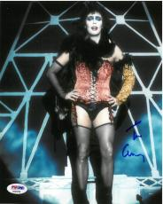 Tim Curry Signed Rocky Horror Picture Show Autographed 8x10 Photo PSA/DNA #1