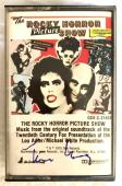 Tim Curry Signed Rocky Horror Picture Show Cassette Tape Autographed BAS COA