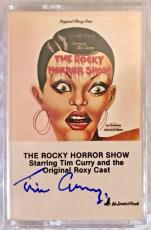 Tim Curry Signed Rocky Horror Picture Show Cassette Tape Autographed BAS COA C