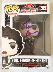 TIM CURRY Signed Rocky Horror Picture Show Funko POP Figure PSA/DNA COA Proof