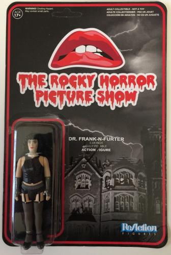 TIM CURRY Signed Rocky Horror Picture Show ReAction Figure PSA/DNA COA Autograph